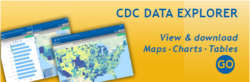 Access the CDC data explorer