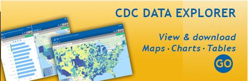 Access the CDC data explorer