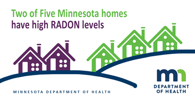 2 in 5 homes in Minnesota have high radon levels