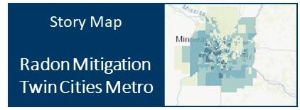 Radon mitigation story map