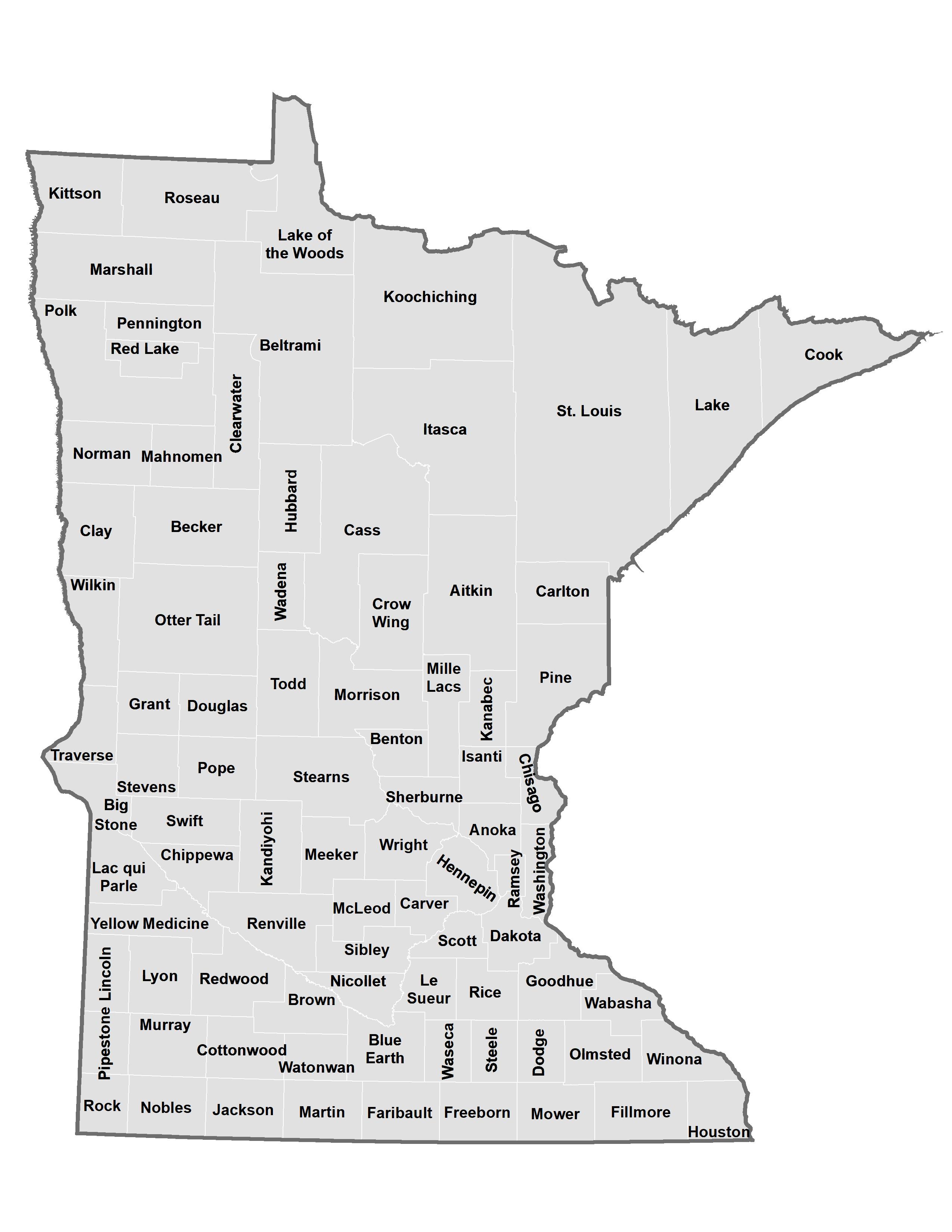 Minnesota counties